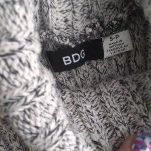 BDG Tops - BDG rib knit turtleneck sleeveless top
